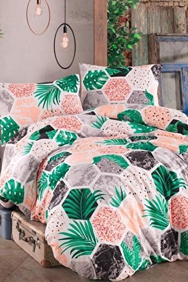 Lady Moda Hawai Terry Cotton Tek Kişilik Nevresim Takımı Renkli